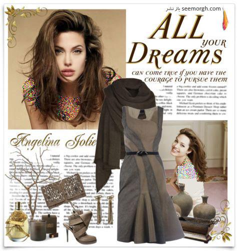 ست کردن لباس انجلینا جولی