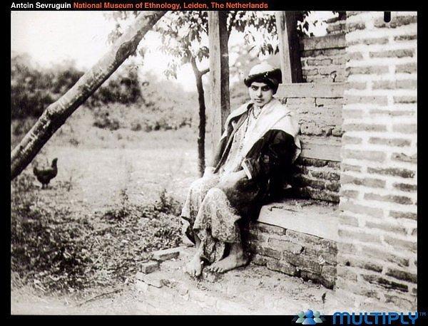 دختر گيلك عصر قاجار