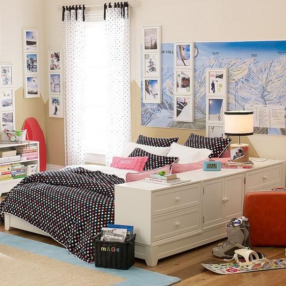اتاق خوابهای زیبا و مجلل مخصوص افراد مجرد