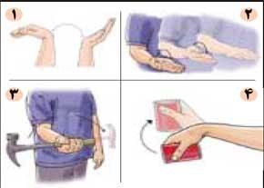 100882227586 حرکات نرمشی درد آرنج