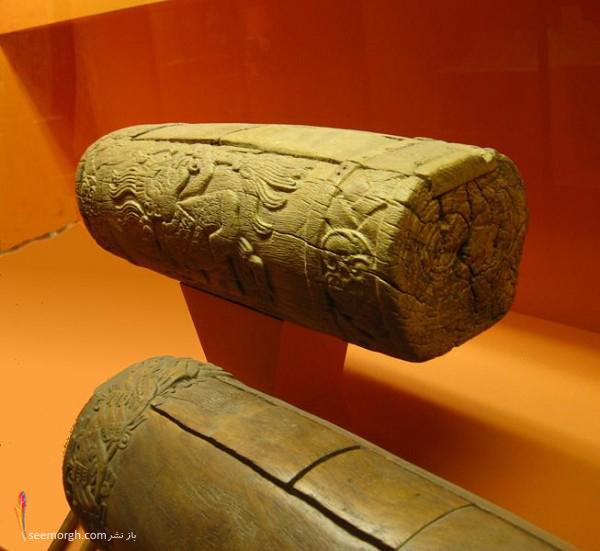 طبل چوبی در دورن باستان