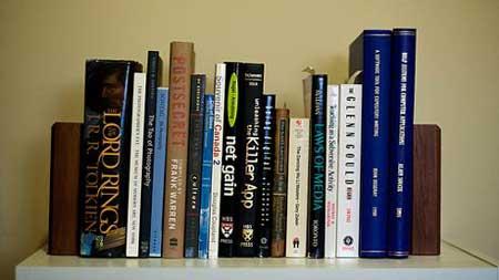 دکوراسیون یک کتابخانه خانگی