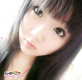 عکس دختری که شبیه عروسک است