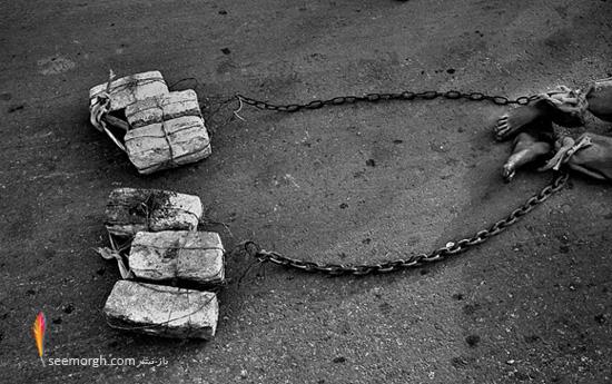 عکسهای مفهومی و تاثیرگذار سیاه و سفید! www.TAFRIHI.com