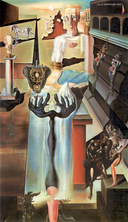 آثار نقاشی سورئال اثر سالوادوردالی
