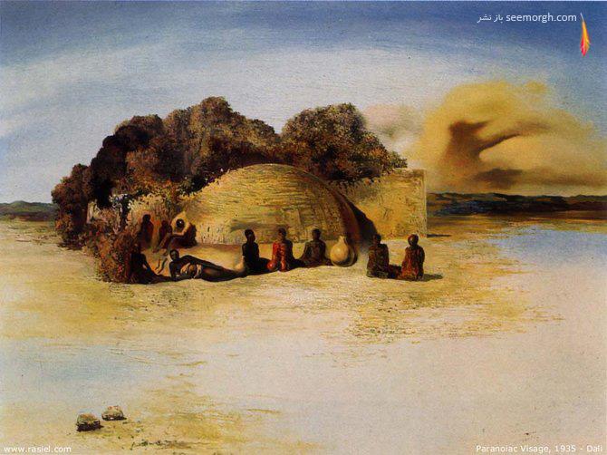تابلو نقاشی اثر سالواوردالی نقاش سورئال