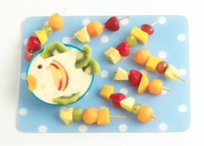 تزیین شب یلدا با میوه های مختلف