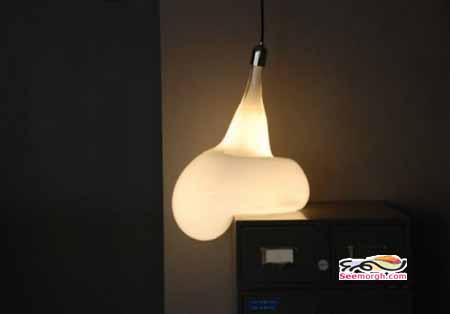 تصاویر لامپهایی که ظاهری عجیب و جالب دارند!!
