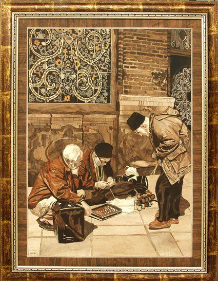 جلوههایى زیبا از هنر معرق (گزارش تصویرى) TAFRIHI.com