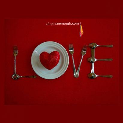 میز شامی عاشقانه بچینید
