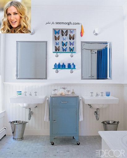 دکوراسیون حمام، به سبک هالیوودی ها ! TAFRIHI.com