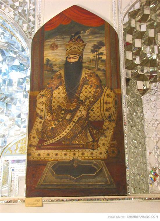 فتحعلی شاه، کاخ گلستان