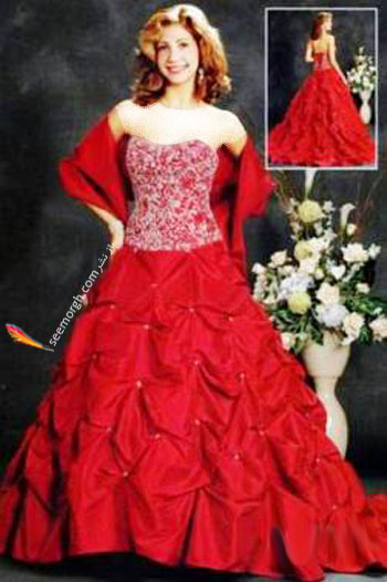 wd07 مدل لباس نامزدی سال 2012