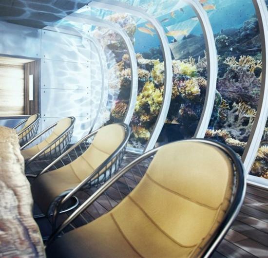 هتل عجیب و 21 طبقه در دبی زیر آب عکس از هتل های عجیب هتل دبی هتل های جهان و گران و عجیب