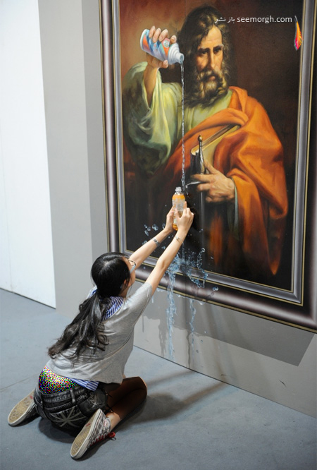 آثار سه بعدی نقاشی