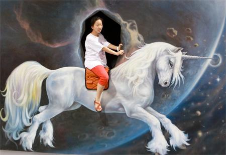 نقاشی های سه بعدی هنرمند کره ای