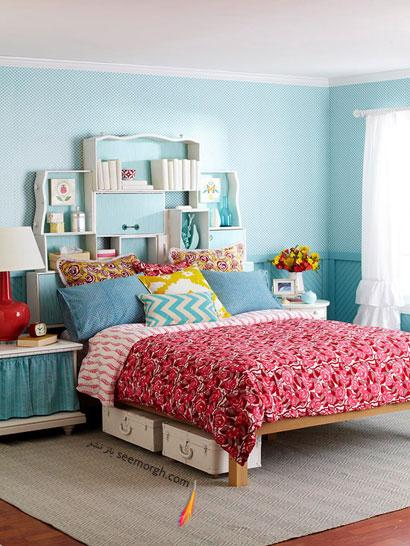 موهبتی به نام تختخواب,چگونه با وسایل معمولی اتاق خوابی خاص بسازید؟,تختخواب در دکوراسیون اتاق خواب