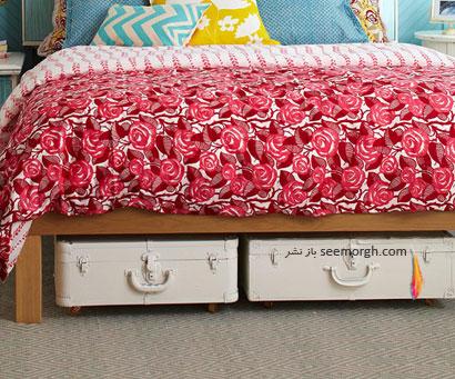 قایم كردن وسایل در اتاق خواب,چگونه با وسایل معمولی اتاق خوابی خاص بسازید؟