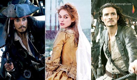 مثلث عشقی,فیلم عشقی,فیلم عشقی خارجی,فیلم هالیوودی,بازیگران هالیوود,رابطه عاشقانه,دزدان دریایی کارائیب