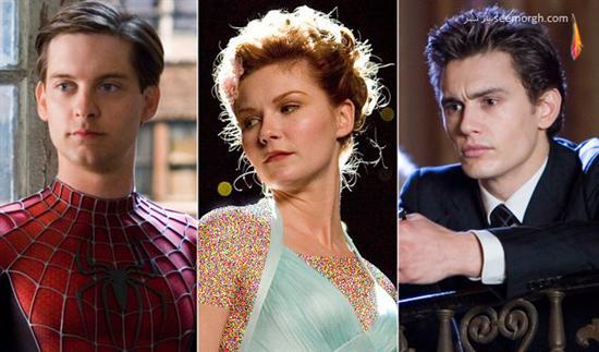 مثلث عشقی,فیلم عشقی,فیلم عشقی خارجی,فیلم هالیوودی,بازیگران هالیوود,رابطه عاشقانه,مرد عنکبوتی
