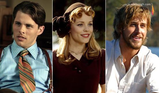 مثلث عشقی,فیلم عشقی,فیلم عشقی خارجی,فیلم هالیوودی,بازیگران هالیوود,رابطه عاشقانه,دفتر یادداشت