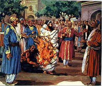 هندوها,سنت های هندوها,مراسم هندوها,سنت های عجیب,مراسم ساتی