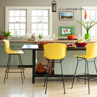 بدون رنگ آمیزی خانه تان را رنگی کنید!