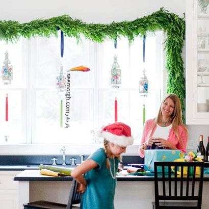 تزیین آشپزخانه برای کریسمس