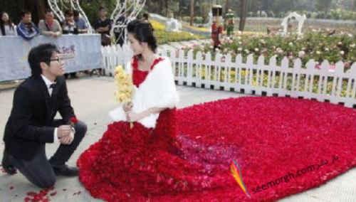 الهی بال پروازمان ده - با ده هزار شاخه گل رز چي ميشه كرد؟!