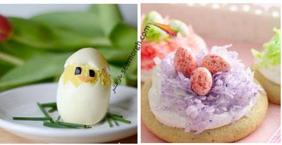 مدل های تزیین تخم مرغ سفره هفت سین - مدل شماره 3