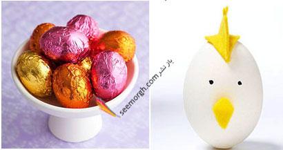 مدل های تزیین تخم مرغ سفره هفت سین - مدل شماره 4