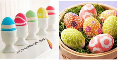 مدل های تزیین تخم مرغ سفره هفت سین - مدل شماره 7
