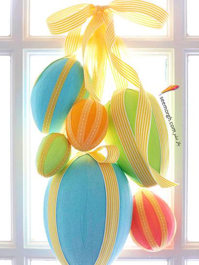 قاب تزئینی از تخم مرغ عید