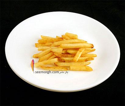 این غذاها تنها 200 کالری دارند,سیب زمینی سرخ کرده (73 گرم = 200 کالری Calories)