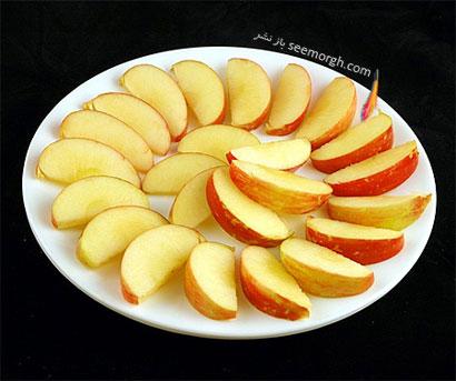 این غذاها تنها 200 کالری دارند,سیب (385 گرم = 200 کالری Calories)
