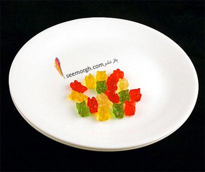 این غذاها تنها 200 کالری دارند,پاستیل (51 گرم = 200 کالری Calories)