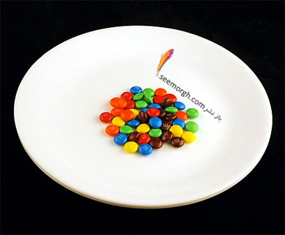 این غذاها تنها 200 کالری دارند,M&M's شکلاتهای (40 گرم = 200 کالری Calories)