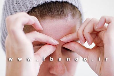 مرحله پنجم ماساژ صورت برای کاهش روند پیری و از بین بردن چین و چروک صورت,آموزش تصویری ماساژ صورت برای کاهش روند پیری و چین و چروک پوست