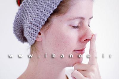 مرحله هفتم ماساژ صورت برای کاهش روند پیری و از بین بردن چین و چروک صورت,آموزش تصویری ماساژ صورت برای کاهش روند پیری و چین و چروک پوست