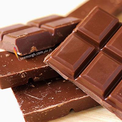 بدترین ماده غذایی برای معده و گوارش : شکلات