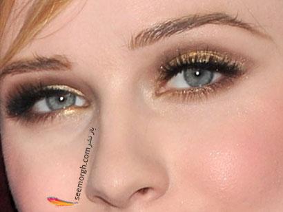 آرایش چشم هنری متالیك,8 مدل زیبا برای آرایش چشم,آرایش چشم,مدل های آرایش چشم