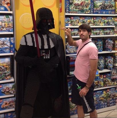 عکس خوشگذرانی انصاری فرد در دوبی