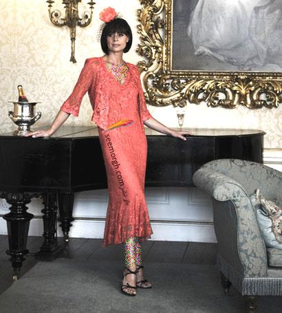مدل لباس شب گیپور, مدل لباس گیپور