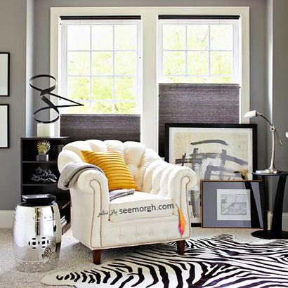 طرح رنگی مدل موزه: خاکستری+ سیاه+ سفید+ طلایی,چیدمانی زیبا با رنگ خاکستری,دکوراسیون داخلی با رنگ خاکستری,