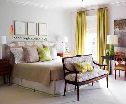 طرح رنگی آرام : خاکستری مرواریدی+ سبز خاکستری,چیدمانی زیبا با رنگ خاکستری,دکوراسیون داخلی با رنگ خاکستری,