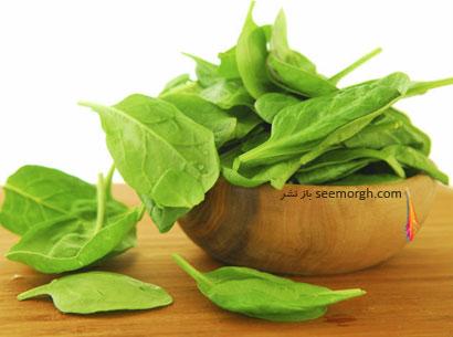 سبزيجات برگي مي توانند به داشتن شکمي تخت به شما کمک کنند