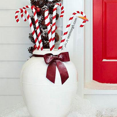 آبنبات های تزئینی برای کریسمس