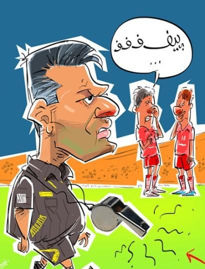 کاریکاتور: قهرمانی عصبانی!