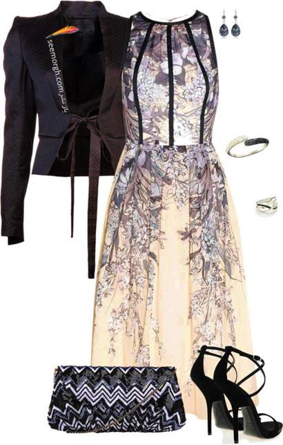 عکس مدل ست کردن های زیبا و شیک لباس