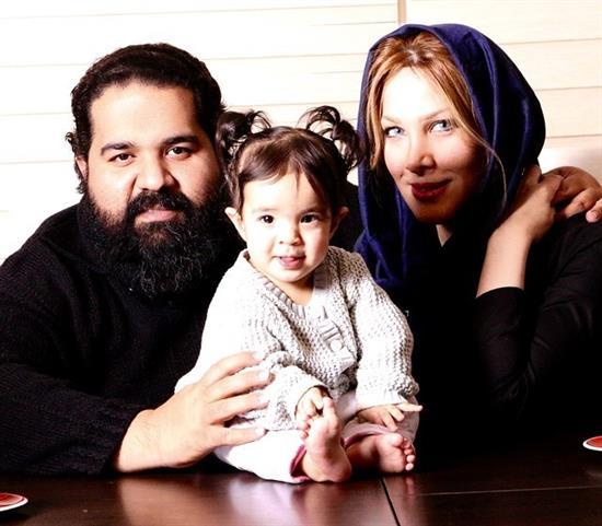 عکسهای جدید رضا صادقی و همسرش